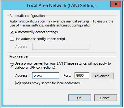 Set a web proxy on sharepoint timer service