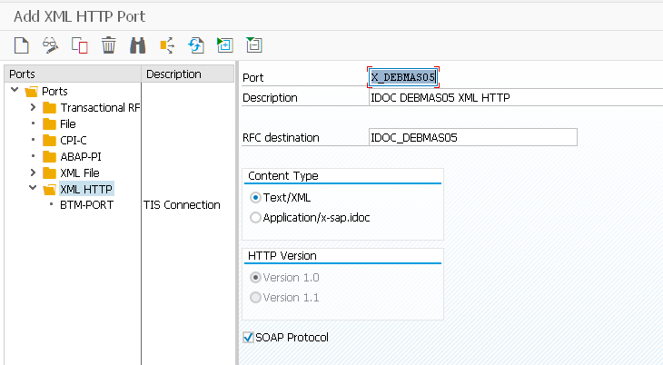 Send SAP ERP Customer (DEBMAS) events to HCI